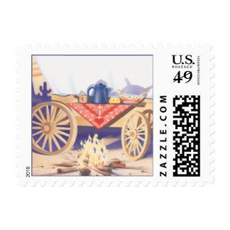 Westward Ho © Postage Stamp