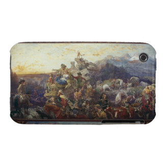 Westward the Course of Empire Takes Its Way iPhone 3 Case-Mate Case