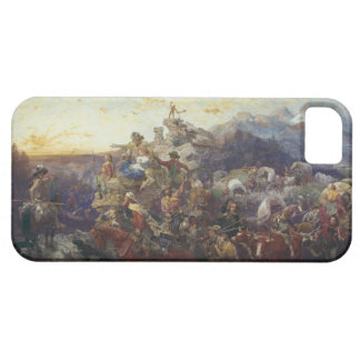 Westward the Course of Empire Takes Its Way iPhone SE/5/5s Case