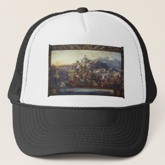 Westward the Course of Empire Takes Its Way Trucker Hat