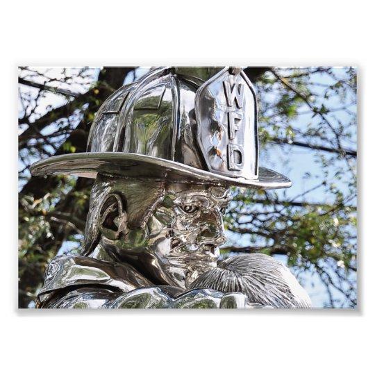 Westwood NJ's Firemen Memorial Photo Print