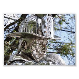 Westwood NJ's Firemen Memorial Art Photo