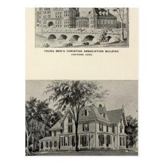 Westwood, YMCA, Hartford Post Card