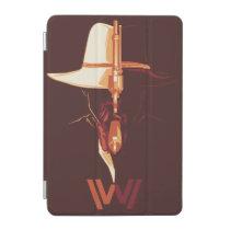 Westworld   White Hat Black Hat Split Graphic iPad Mini Cover