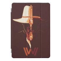 Westworld   White Hat Black Hat Split Graphic iPad Pro Cover