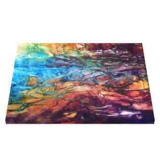 Wet 022 canvas print