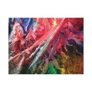 Wet 055 canvas print