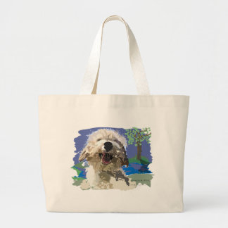 Wet and Happy Canvas Bag