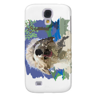 Wet and Happy Samsung Galaxy S4 Cover