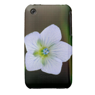 Wet and Wildflower iPhone 3 Case