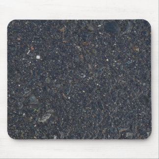 wet asphalt texture pattern bitumen pitch black ba mouse pad