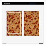 Wet Autumn Leaves Kindle Fire Skins