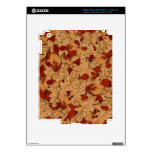 Wet Autumn Leaves Skins For iPad 3