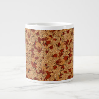 Wet Autumn Leaves 20 Oz Large Ceramic Coffee Mug