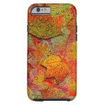 Wet Autumn Leaves Tough iPhone 6 Case