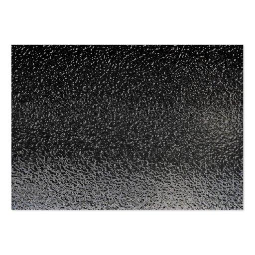 Wet Black Asphalt Background Business Card Template