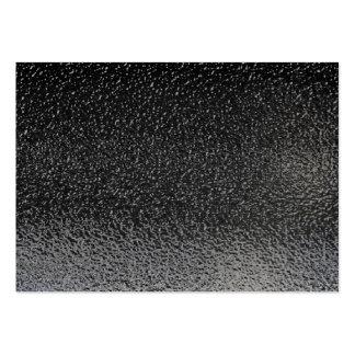 Wet Black Asphalt Background Large Business Cards (Pack Of 100)