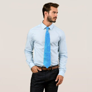 Wet Blue (1 side) Tie