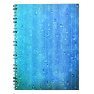 Wet Blue Notebook