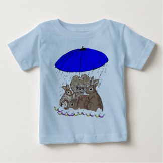 Wet Bunnies Baby T-Shirt