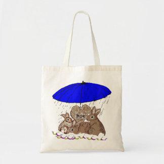 Wet Bunnies Budget Tote Bag