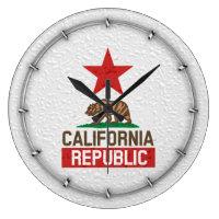 Wet California Republic Clocks