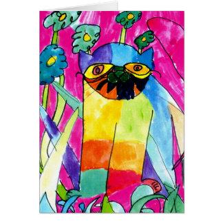 Wet Cat • Trevor Nielsen, Age 8  - card