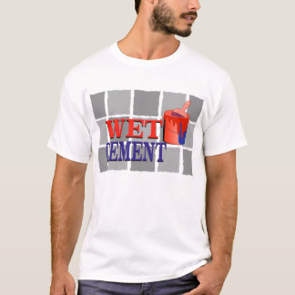 Wet Cement T-Shirt