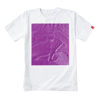 wet color texture,purple zazzle HEART T-Shirt