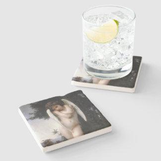Wet Cupid  (L'Amour Mouillé) Stone Beverage Coaster
