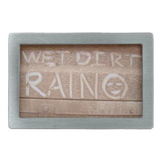Wet Dirt 'Tailgate Talk' Belt Buckle