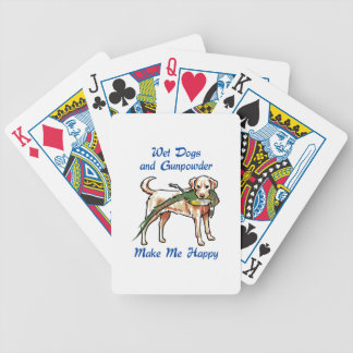 Wet Dogs Bicycle Playing Cards