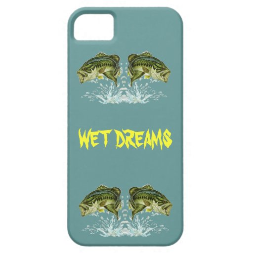 Wet Dreams - Largemouth Bass iPhone 5 Case