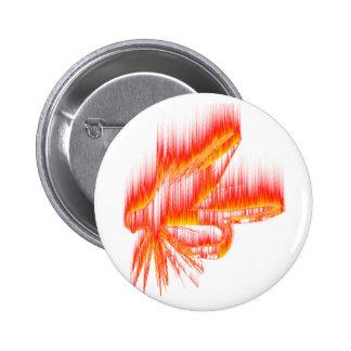 Wet Fly Fire design Button