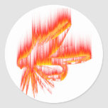 Wet Fly Fire design Stickers
