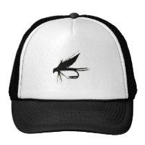 Wet Fly Silhouette Trucker Hat