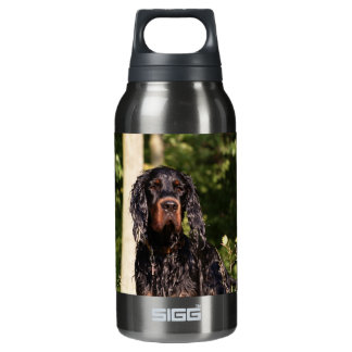 Wet Gordon Setter Liberty 10 Oz Insulated SIGG Thermos Water Bottle