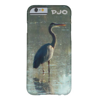 Wet Lands Crane Barely There iPhone 6 Case