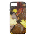 Wet Leaves and Rocks Autumn Nature Photography iPhone 8/7 Case