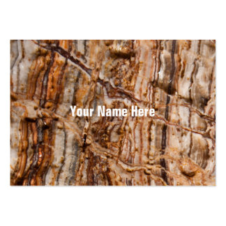 Wet Marble Abstract Large Business Card