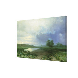 Wet Meadow, 1872 Gallery Wrapped Canvas