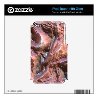 Wet Metal Structure (I) iPod Touch 4G Decal