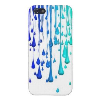 Wet Paint Dripping Art Vintage Artistic Designs iPhone SE/5/5s Case