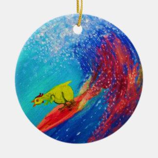 Wet Paint Christmas Ornament