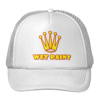 wet paint paintball logo hat