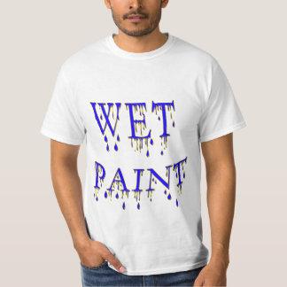 Wet Paint T Shirts