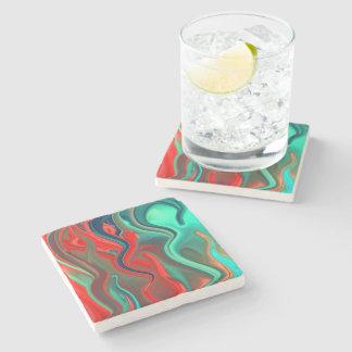 Wet Paints Stone Beverage Coaster