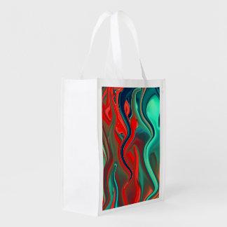 Wet Paints Reusable Grocery Bag