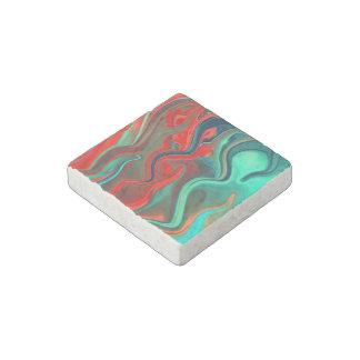 Wet Paints Stone Magnet