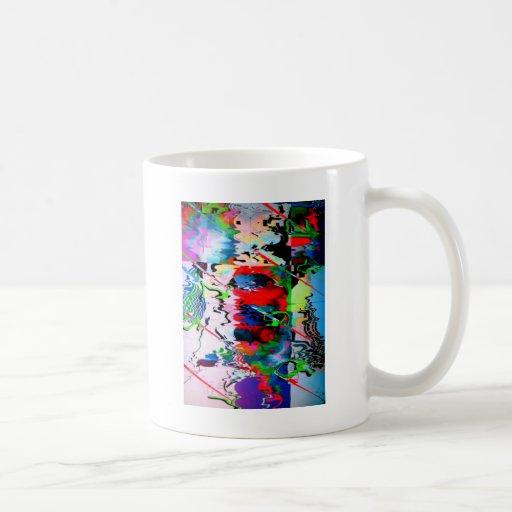 wet pavement reflections coffee mug